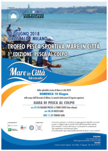 Mare in Città Programma 2018 - Trofeo Pesca Sportiva